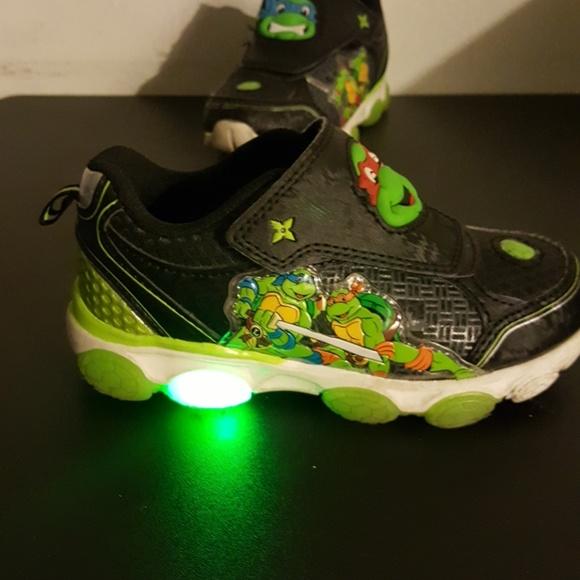 Toddler Ninja Turtle Light Up Sneakers